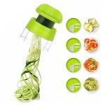 Desde TipDom, te traemos otro interesante gadget de cocina. Se trata de un cortador en espiral de verduras, pudiendo innovar de una forma fácil el arte de la cocina, disfrutando la comida saludable de una forma distinta. También tiene la función de rallador de verduras, como son el calabacín y la zanahoria. Con el cortador harás espaguetis de calabacín entre otras funciones como cortar en espiral las verduras como la zanahoria. Encuentra el cortador en espiral de verduras aquí.