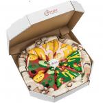 Rainbow socks. Caja de calcetines de pizza. Desde TipDom, te traemos un pack de calcetines de lo mas originales. Los Rainbow socks, son unos calcetines en forma de pizza dentro de una caja de pizza. Producto perfecto si estas buscando regalos originales como para el amigo invisible. Encuentra la caja de calcetines de pizza aquí. Calcetines caja pizza, pack calcetines pizza.